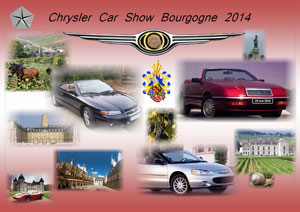 Chrysler car show de Bourgogne